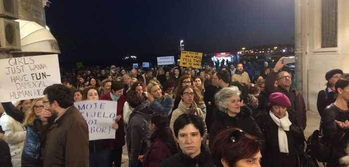 marš za prava žena