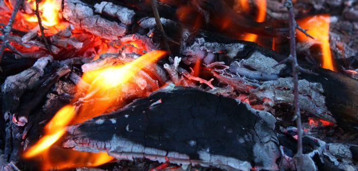 vatra, požar