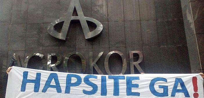 Radnička fronta pred sjedištem Agrokora