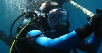 podmorje, more, ronioc