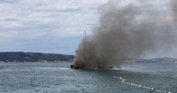 požar broda u kaštelima