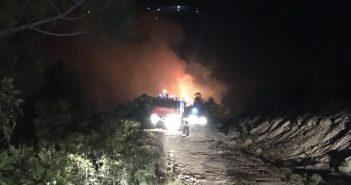 Požar na Promini