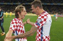 Luka Modrić i Mario Mandžukić