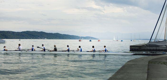 veslači