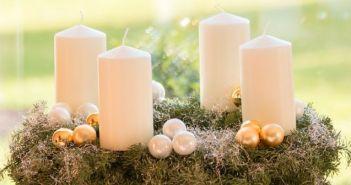 adventski vijenac, adventske svijeće