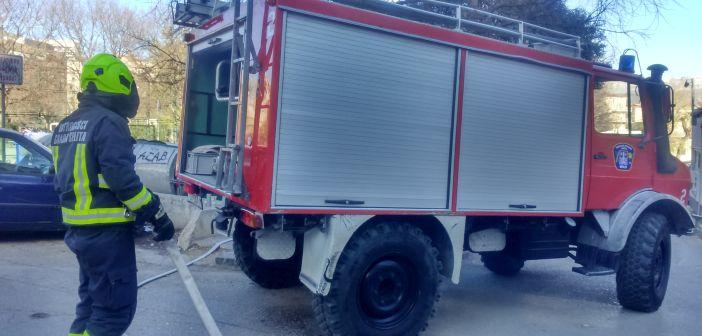 požar kontejnera