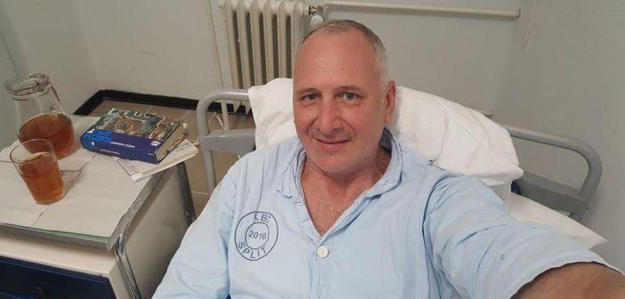 Gradonačelnik na FB objavio selfie iz bolnice