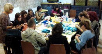 radionica pletenja - Klub Zona