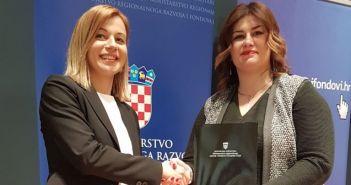 Jelena Hrgović i Gabrijela Žalac