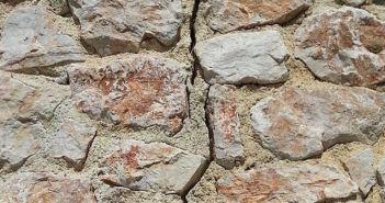 potres, oštećenje, napuknuće