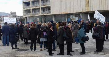 prosvjed radnika Dalmacijavina