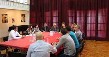 župan Dobroslavić radni sastanak Metković