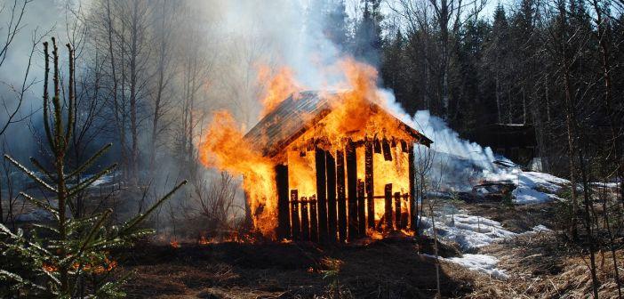 Požar štale