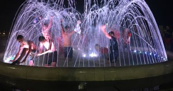 prolaz Hrvatske u finale fontana Split