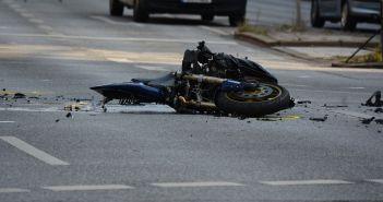 prometna nesreća motor