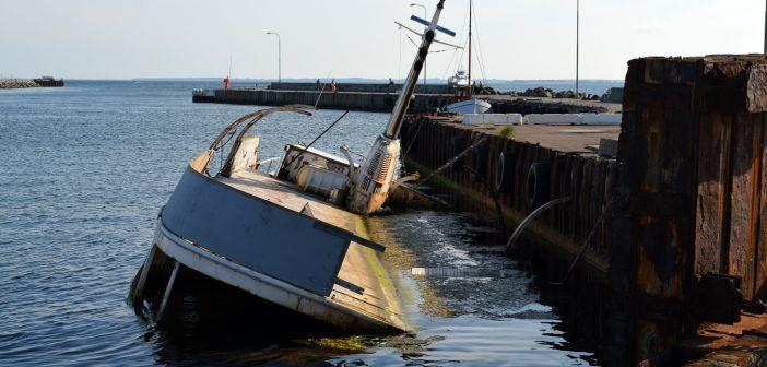 brod, havarija, potonuće