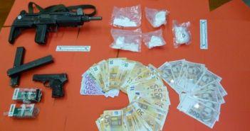 kokain i novac PU ZD
