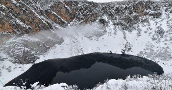 Imotski snijeg jezero