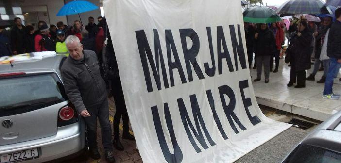 Marjan umire, inicijativa Naš Marjan
