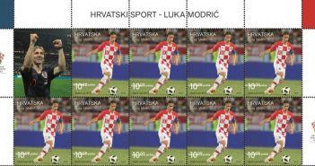 poštanka marka Luka Modrić