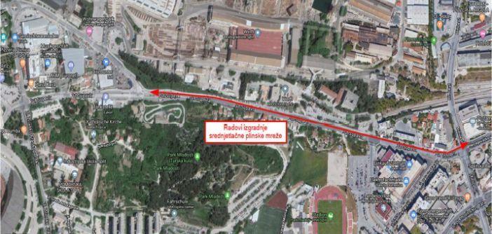 Split: Od subote privremena regulacija prometa na Putu Supavla