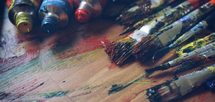 umjetnost boje kistovi
