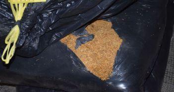 560 kg rezanog duhana
