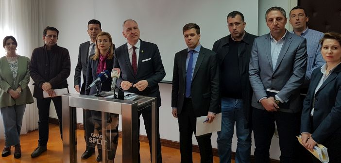Andro Krstulović Opara i vijećnici