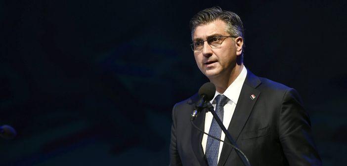 Svečana sjednica GV Splita, Andrej Plenković