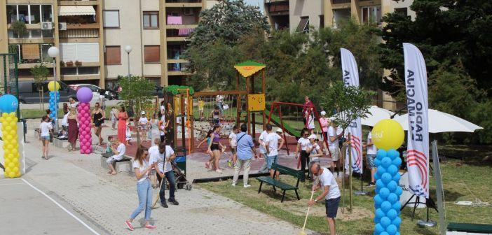"""""""Za lipšu Dalmaciju"""": Zajedno smo uredili park i dva igrališta na Pujankama  (Fotogalerija)"""