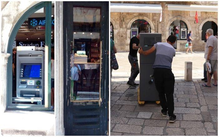 Dubrovnik: Uklonjena još dva bankomata