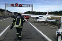 cesna sletjela na autocestu