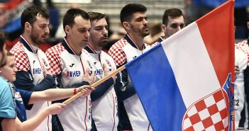 Graz, 09.01.2020 - Rukomet: Hrvatska - Crna Gora, skupina A, 1. kolo Europskog rukometnog prvenstva
