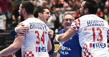 Bec, 18.01.2020 - Rukomet: Hrvatska slavi pobjedu protiv Njemacke