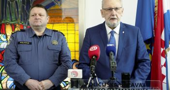 Split, 18.01.2020 - Ministar Davor Bozinovic na konferenciji za medije u PU Split
