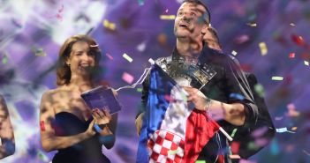 Opatija, 29.02.2020 - Damir Kedzo, pobjednik na glazbenom festivalu, Dora 2020