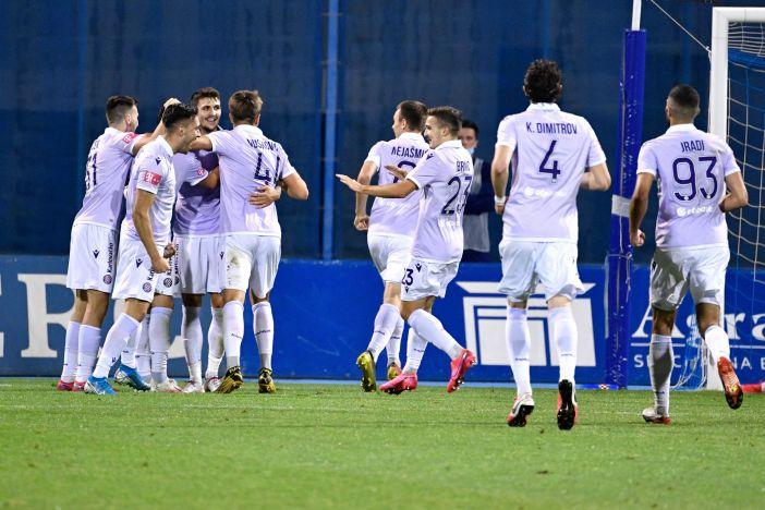 Hajduk slavio u Maksimiru