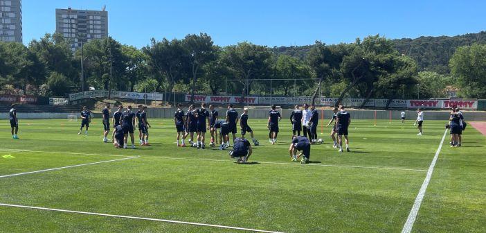 Početak priprema: Prvi trening Bijelih pod vodstvom Jensa Gustafssona