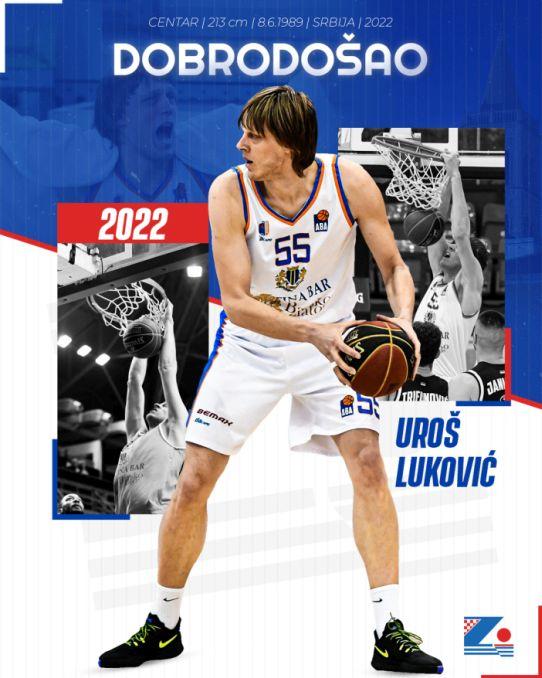 Uroš Luković novi je igrač Zadra