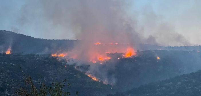 Na trogirskom području do sada izgorjelo oko 1400 hektara površine