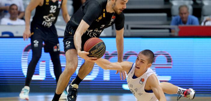 Zadar, 27.09.2021. - Prvo kolo ABA lige izmedju KK Zadar i KK Partizan NIS.